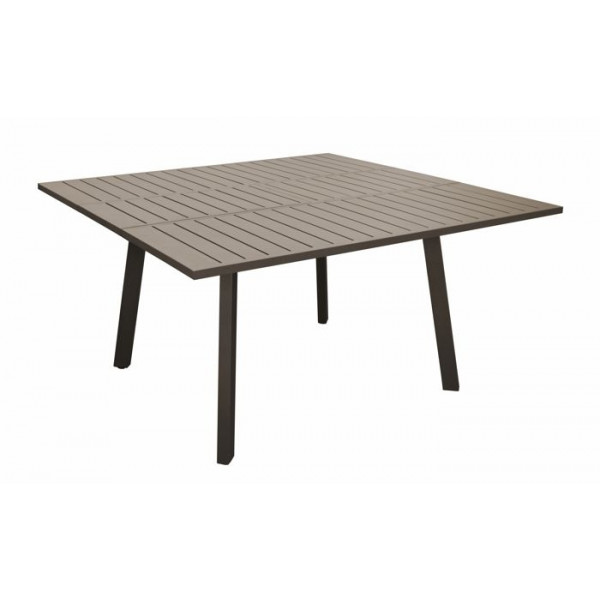 Table de jardin Barcelona 100/145 x 145 cm