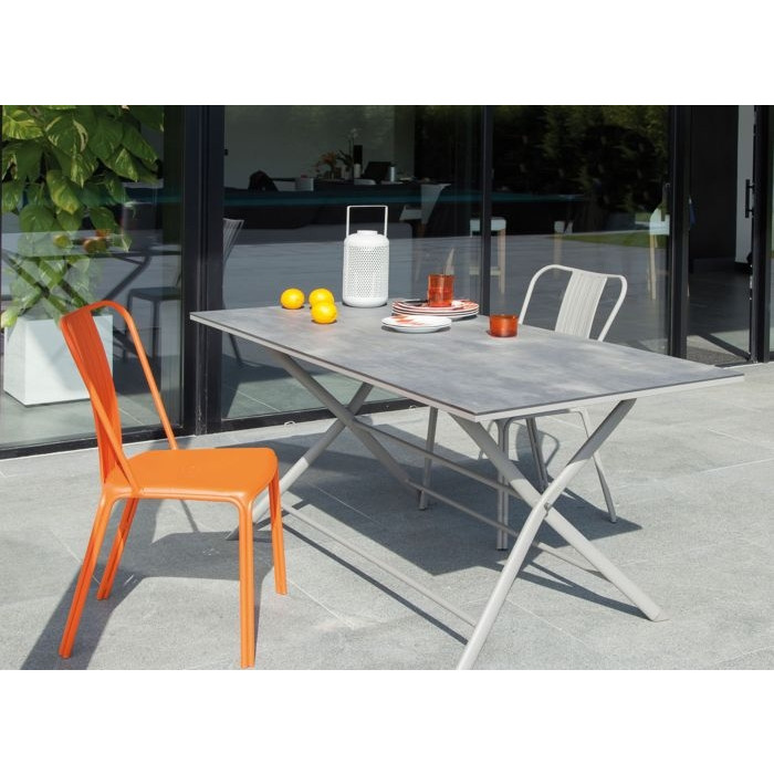 Table Azuro 160 taupe / voyage