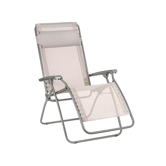 fauteuil relax pliant lafuma r clip