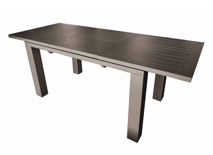 Table à allonge papillon Elisa Proloisirs 140-200 cm