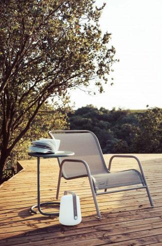 Fauteuil de jardin bas empilable Coolside Fermob