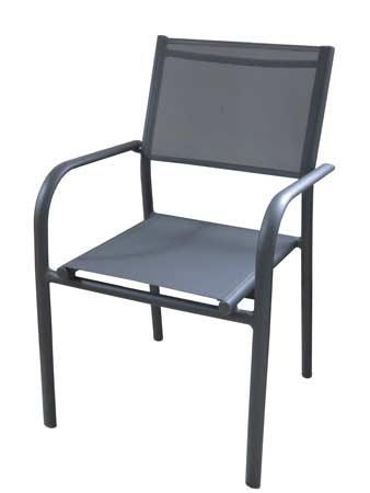 Salon de jardin Tahaa avec fauteuils duca gris