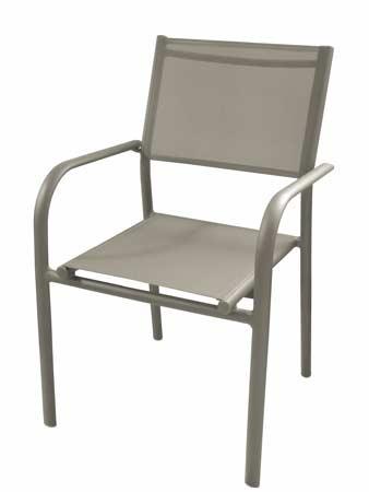 Salon de jardin Moora fauteuils duca taupe alizé