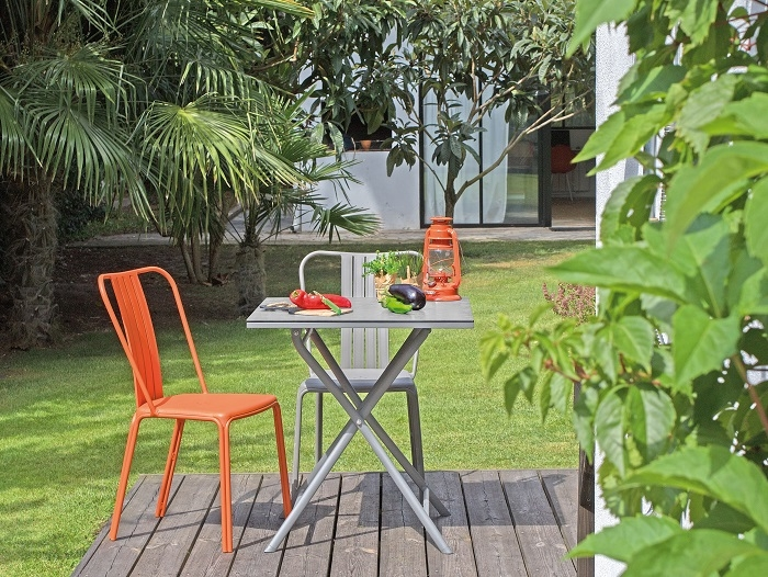 Salon De Jardin Azuro Taupe 2 Chaises Proloisirs 1 Taupe