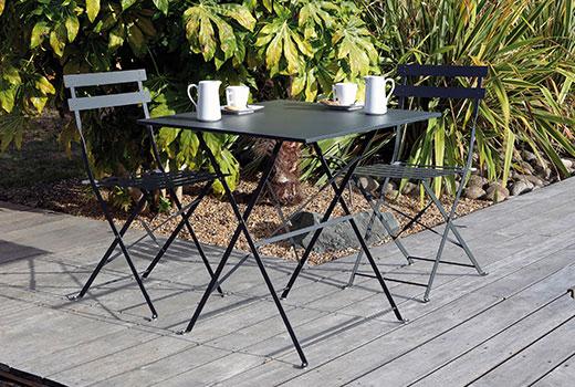 Table de jardin pliante Alizé Cuba 70