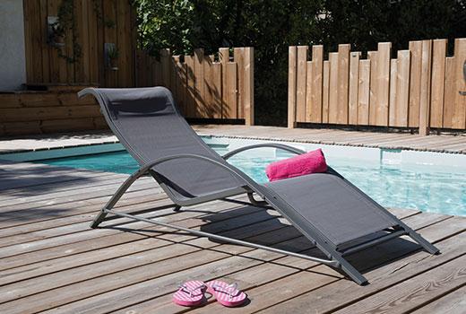 Lit bain de soleil Alizé Napoli