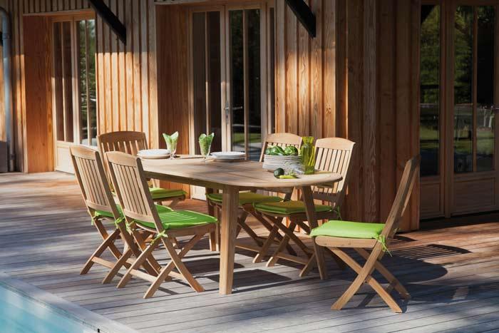 coussins de chaise de jardin Galette Garden Proloisirs