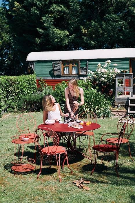 Salon de jardin montmartre chaise fermob