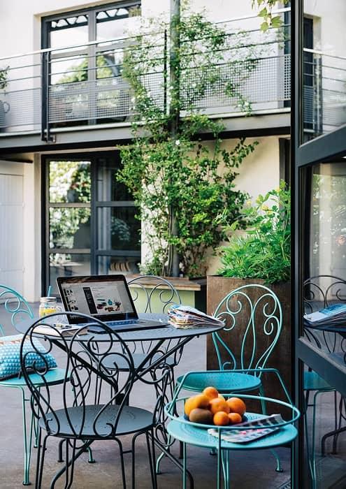 Salon de jardin montmartre fauteuil fermob