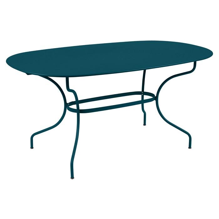 Table Opéra + 160 x 90 bleu