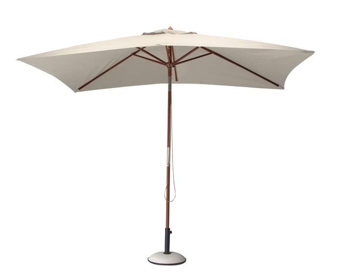 Parasol bois 3x2 mètres proloisirs ambiance