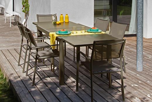 Salon de jardin Alizé Elise fauteuils Duca