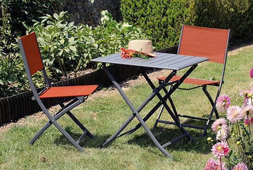 Salon de jardin Alizé Lorita chaises Dream