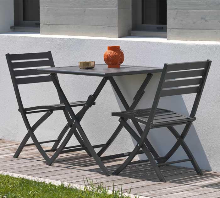 Salon de jardin Marius Alumob aluminium