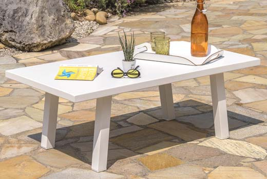 Table basse du salon de jardin Ibiza 5 personnes