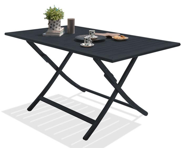 Table pliante Marius Alumob aluminium