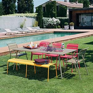 Salon de jardin Fermob Monceau chez Raviday-jardin.com