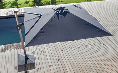 Parasols déportés - Raviday-jardin.com