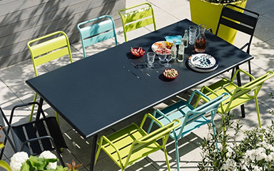 Le rayon Table de Jardin